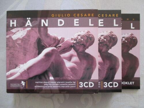 1 von 1 - Händel: Giulio Cesare - Panni, Dupuy, Pierotti, Ligi, Orciani - 3 CD NEUWERTIG