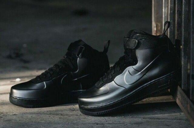 5b19126c175 Nike Air Force 1 Foamposite Cup sz 8 ah6771 001 black basketball retro shoe
