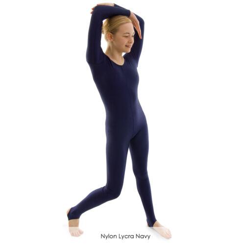 Dance Gear Michelle Women/'s Nylon Lycra Long-Sleeved Catsuit