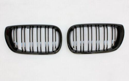 Griglia anteriore Grill per BMW e46 02-05 berlina touring nero lucido doppio
