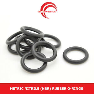 41mm OD 36mm x 2.5mm Pack of 10 Nitrile Rubber O-Rings 70A Shore Hardness