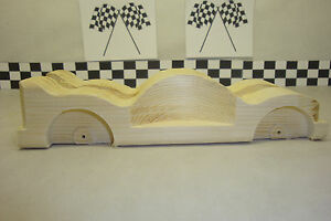 Pinewood Derby Pre-cut, Minions Car, Lowered & Spoiled! Cool Car!