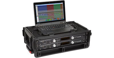 SKB 1SKB-ISF2U Studio Flyer 2 Space Rack /& Computer Compartment UPC 789270999404