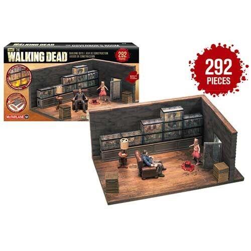 Walking Dead Walking Dead Construction Governor''s Room Action Figure