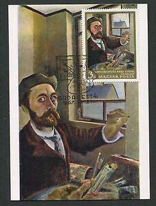 AgréAble La Hongrie Mk 1967 Peintures Peinture Painting Maximum Carte Maximum Card Mc Cm D3572-afficher Le Titre D'origine Excellent Effet De Coussin