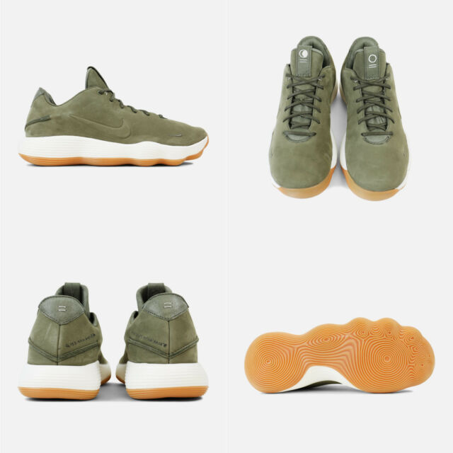 2381cd360a30 Mens Nike Hyperdunk 2017 Low Limited Size 11 Olive Green Gum 897636 ...
