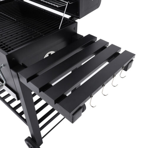 Barbecue Charcoal Grill BBQ Stove Outdoor Camping Patio Backyard Cooking Trolley
