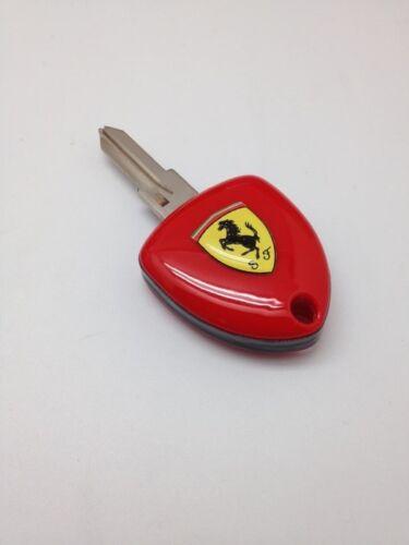 Ferrari Blank Key Enzo Style Uncut 512//348//355//360//Testarosa Domed Badge