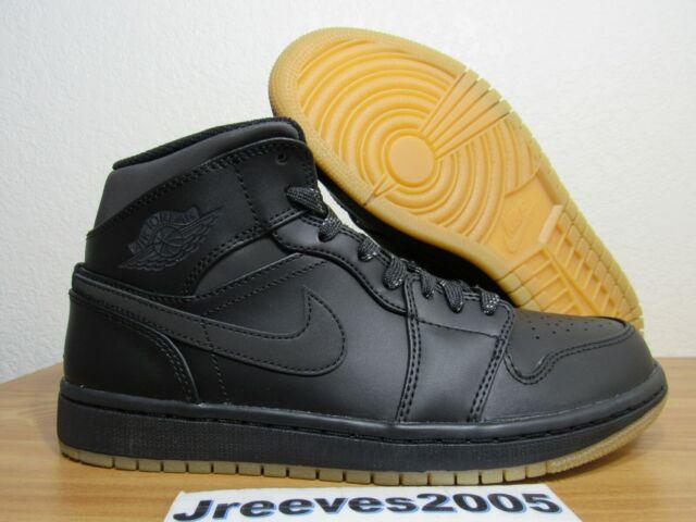 f48ba800c0c11c Jordan Retro 1 Mid Winterized Sz 7.5 100% Authentic Black Gum AA3992 002