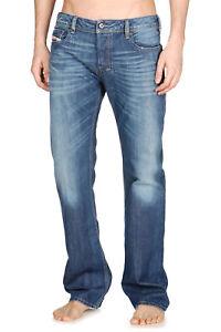 Diesel-NUOVO-Diesel-Zatiny-Regular-Fit-jeans-da-uomo-8XR-Blu-Wash-Rrp-99-99