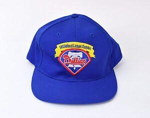 f2321ffc77f Image is loading Vintage-1993-National-League-Champions-Philadelphia- Phillies-Snapback-