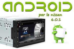 Autoradio-Navigatore-GPS-Nissan-Qashqai-JUKE-ANDROID-WiFi-Touch-capacitivo