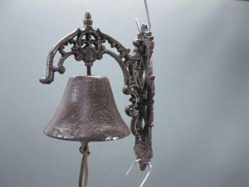 Glocke  Türglocke rustikal Gusseisen 24 cm Wandglocke Gartenglocke Door Bell
