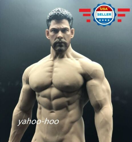 1//6 Thor Chris Hemsworth Avengers  PHICEN M35 Seamless Muscular Figure Set