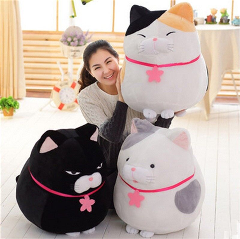31  Japan  Big Amuse Cats Plush Doll Soft Anime Stuffed Animal Toys Birthday Gift  dessins exclusifs