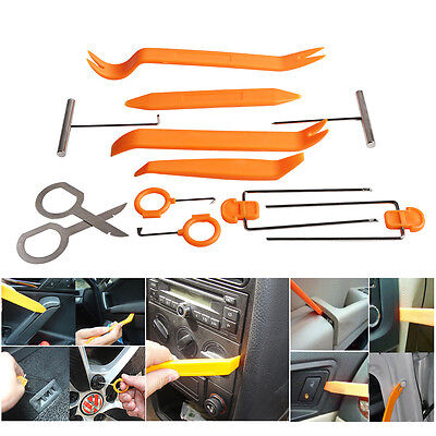 12pc Panel Tools Removal Radio Trim Open Pry Tools Kit Car Dash Door Panel