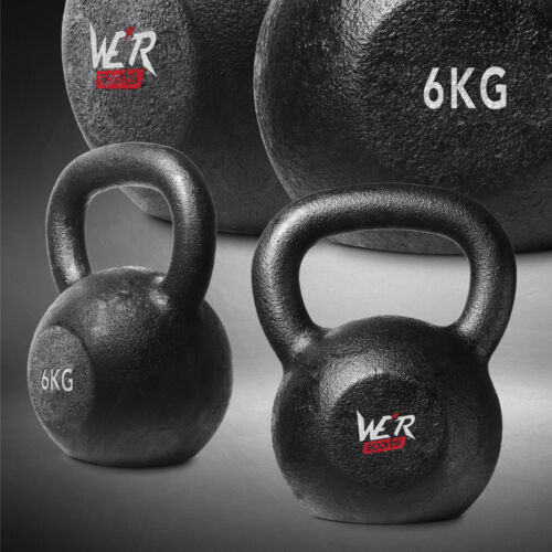 Cast Iron Kettlebells Weight Strength Fitness Kettlebell Training 2kg to 40kg