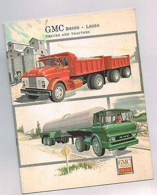 1960 Gmc B6000/l6000 Truck Brochure: B/c 60000 Traktor 183cm Sparen Sie 50-70%