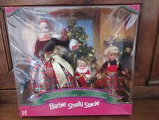 Barbie Shelly Stacie- Christmas Sisters- Noël en famille-NEUF-MISB-