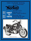 Norton Motorcycles Factory Workshop Manual 1957-1970 by Norton Manufacturing Co. Ltd. (Paperback, 2007)