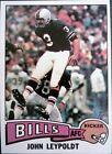 1975 Topps John Leypoldt Buffalo Bills #273 Football Card