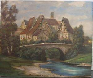 :KARL GATERMANN *1909 Ansicht von Altenstadt an der Iller - ca. 30km vor Ulm