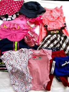 Mixed Items & Lots Lot Baby Toddler Girl 3 Months Carter's Okie Dokie Nursery Rhyme Just One You For Fast Shipping