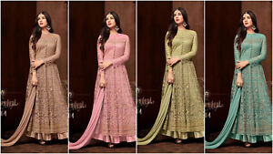 Bollywood 4 Suit 3 1 Indian 2 Kameez With Anarkali Salwar Net Santoon wBOUqw6