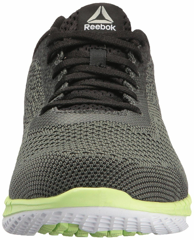 Reebok Mens Print Prime Ultk Running Shoe ironstone/black/electric 10 11 BS8587