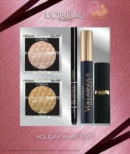Image is loading L-039-Oreal-Holiday-Makeup-Kit-Eyeshadow-Eyeliner-