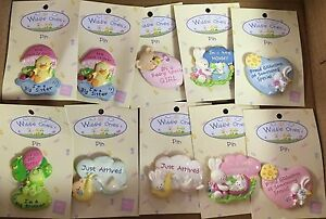 Russ-Very-Cute-Baby-Shower-Pins-for-Baby-Girls-amp-Boys-All-New-Lot-of-170pc