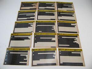 Chevy-S10-91-92-93-94-S-T-Microfiche-Light-Truck-Parts-20-Card-Catalog-1994-J