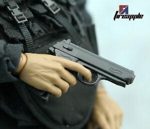 A-faire-soi-meme-1-6th-4D-PPK-Pistol-Model-GUN-ARME-jouets-accessoires-F-12-034-Action-Figure