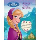 Disney Frozen Anna's Book of Secrets: Keep Your Dreams and Secrets Under Lock and Key! by Parragon (Hardback, 2015)