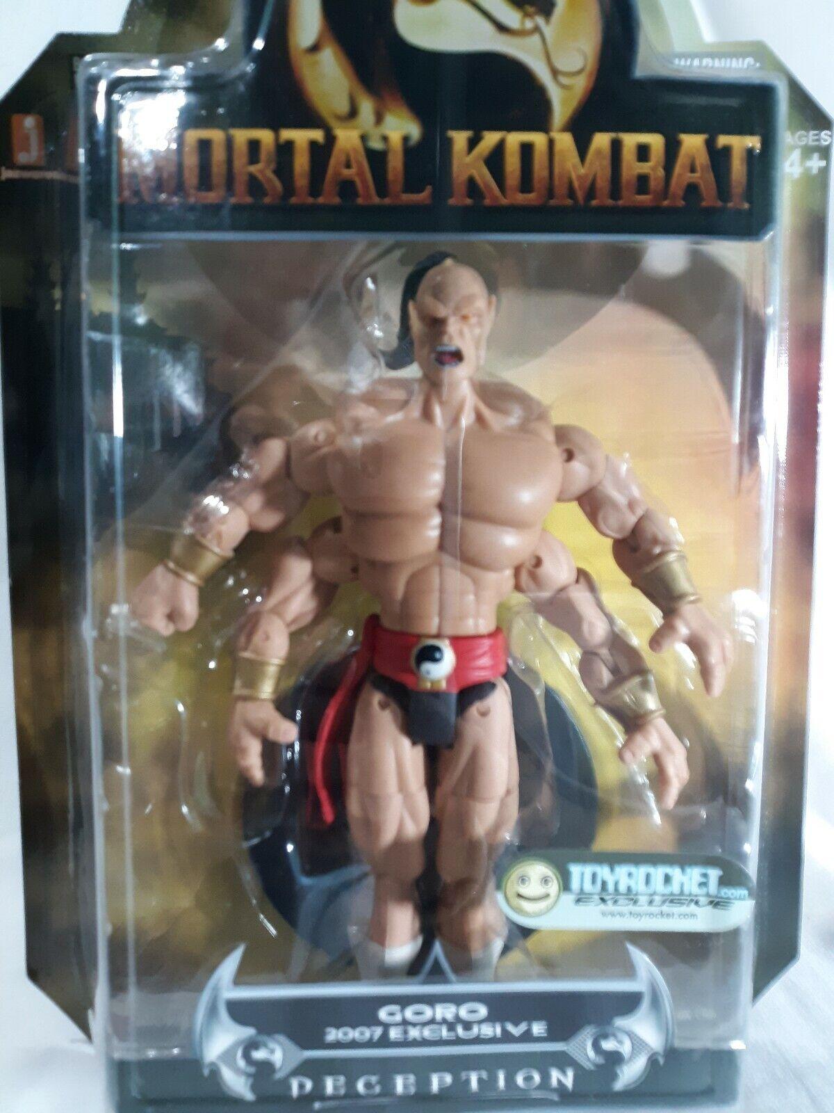 Mortal KOMBAT DECEPTION Goro 6  figura 2007 Jugueterocket exclusivo Jazwares A14