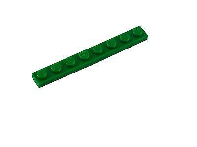 Lego 20 grüne 1x8 Platten (3460) Neu Platte in grün green Plates Plate New