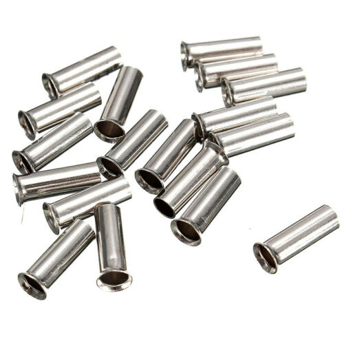 100 Cable Housing End Non-Insulated Wire Strip Copper Ferrules 0.5mm² 16mm²