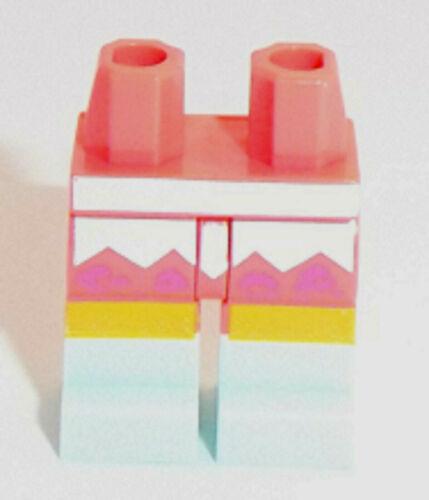 LEGO MINIFIG CORALLO fianchi /& GAMBE X 1 Lavanda chiazze /& Light Aqua Stivali Modello
