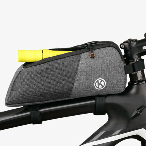 Outdoor Cycling Bicycle Bike Top Frame Front Pannier Tube Bag Pouch Holder