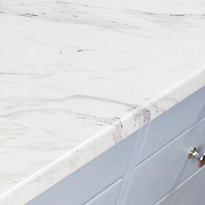 Calcutta Marble Laminate Kitchen Worktops 38mm Marble