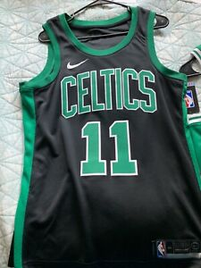 new product 1aeed df5bd Details about Nike Boston Celtics Kyrie Irving Jersey Medium Black/Green