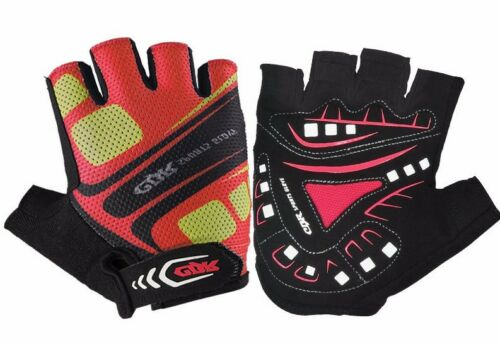 Sports Fingerless Gloves Cycling Half Finger Short Gloves For Gym Bike Riding