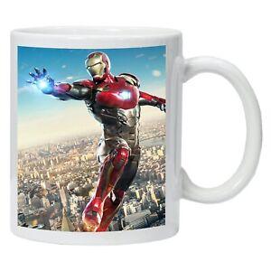 Iron-Man-Marvel-Avengers-Personalised-Mug-Printed-Coffee-Tea-Drinks-Cup-Gift