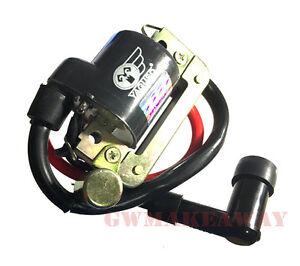 Honda GL100 CG110 CB100 XL100 6V AC Ignition Coil Condensor Spark Cap Plug