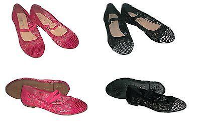 Kinderschuhe Ballerinas Leder Fußbett Slipper Ballerina Mädchen Schuhe -NEU-