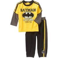 Batman Infant Boys 2 Piece Outfit Sizes-0-3m ,3-6m ,6-9m