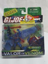 GI Joe Valor vs Venom Sand Viper W Air Assault Glider Complete