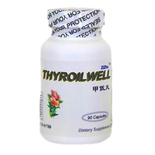 Relieves Hypothyroidism all herbs, made in USA ThyroilWell