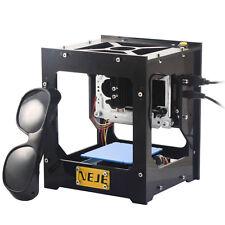 Black NEJE 500mW USB Laser Engraver Box/Laser Engraver Machine/DIY Laser Printer