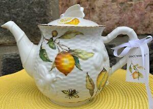 Belle GRACE'S Worcester citrons Papillons Abeilles Pitcher-NOUVEAU 🍋 🦋 🐝
